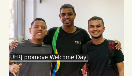 UFRJ promove Welcome Day